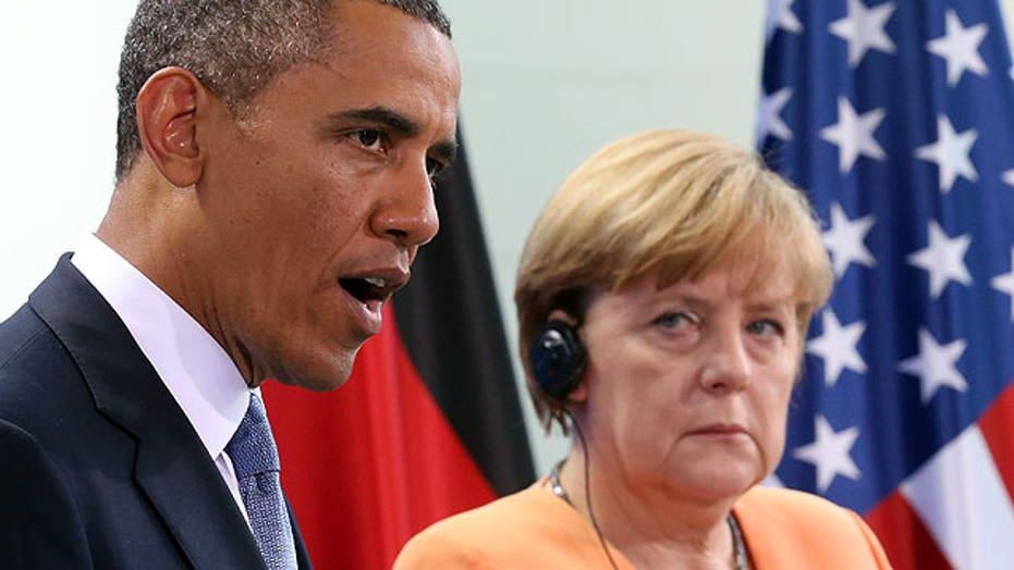 White House: US not monitoring Chancellor Merkel