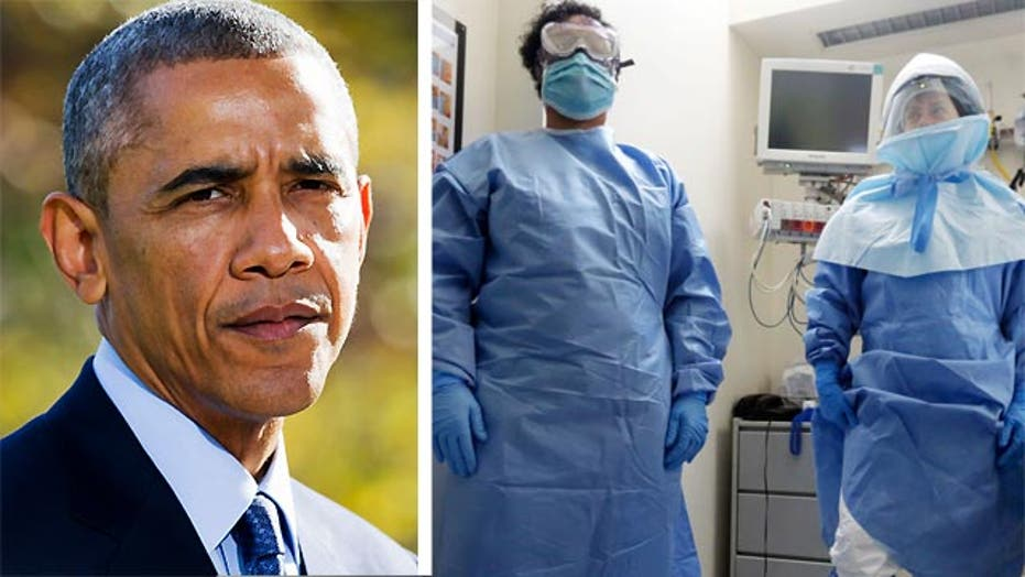 Obama considers treating non-citizens for Ebola in US