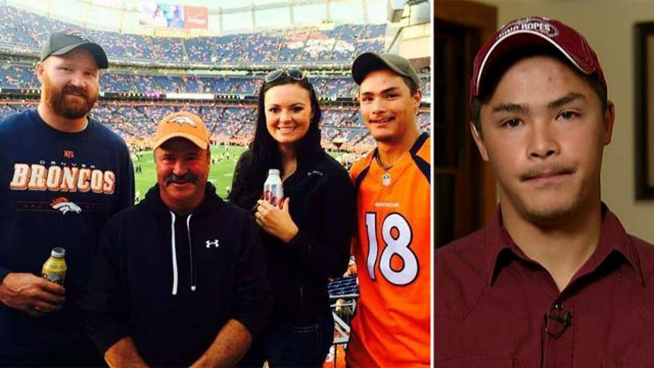 Jarod Tonneson on father's disappearance from football game