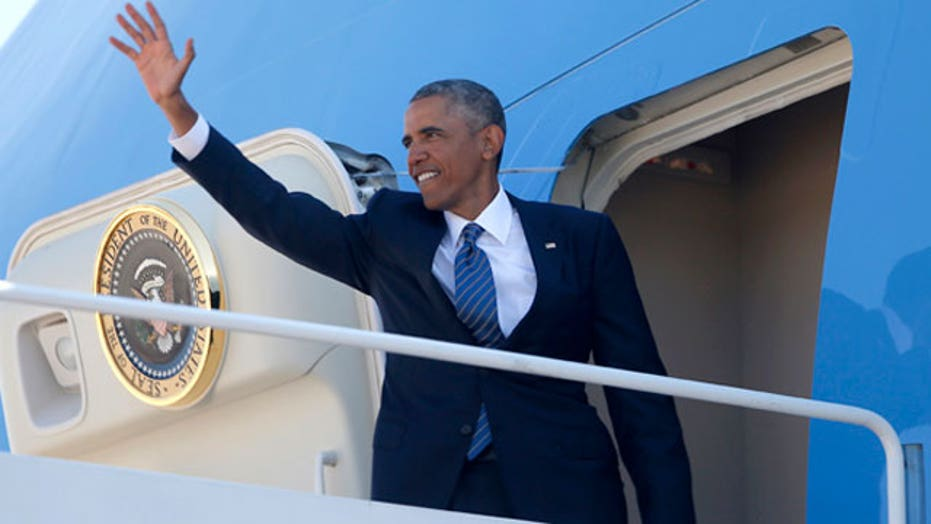 President Obama embarks on 6-state tour ahead of midterms