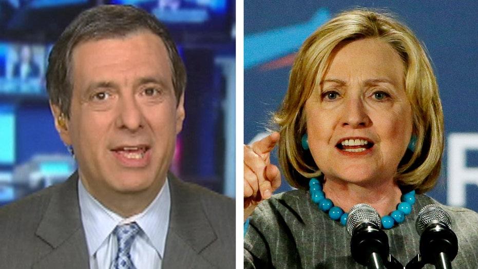 Kurtz: Media to Hillary: You're no Elizabeth Warren