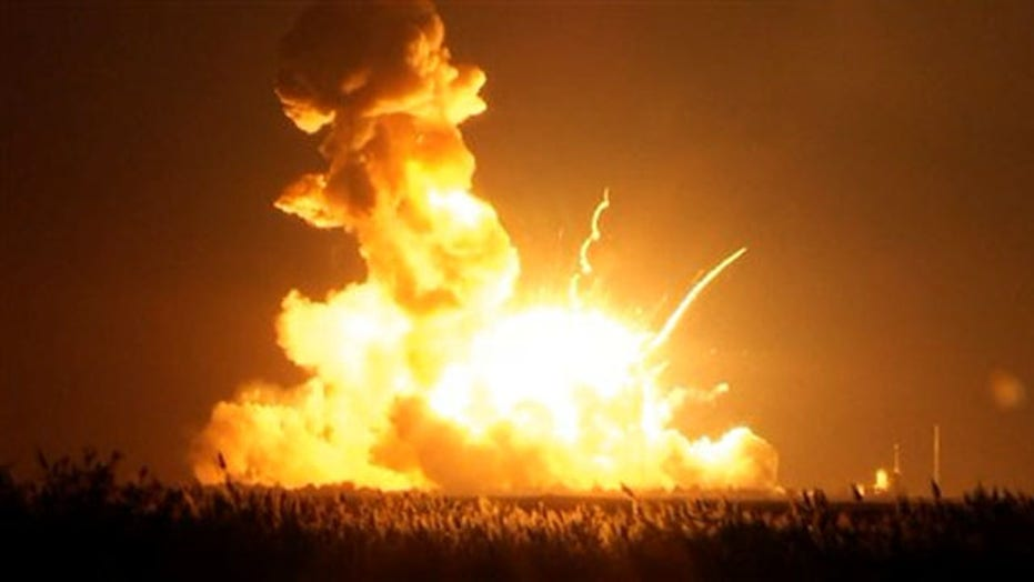 NASA searches for clues after rocket explodes after lift off