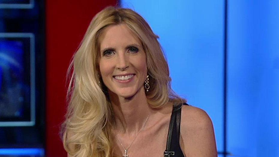 Ann Coulter talks gutter politics in midterms