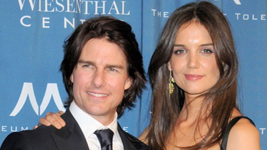 Katie Holmes can't lose Tom Cruise