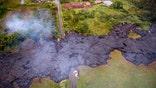 William La Jeunesse reports on lava flow
