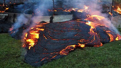 Officials: Lava on Big Island just  feet from a house