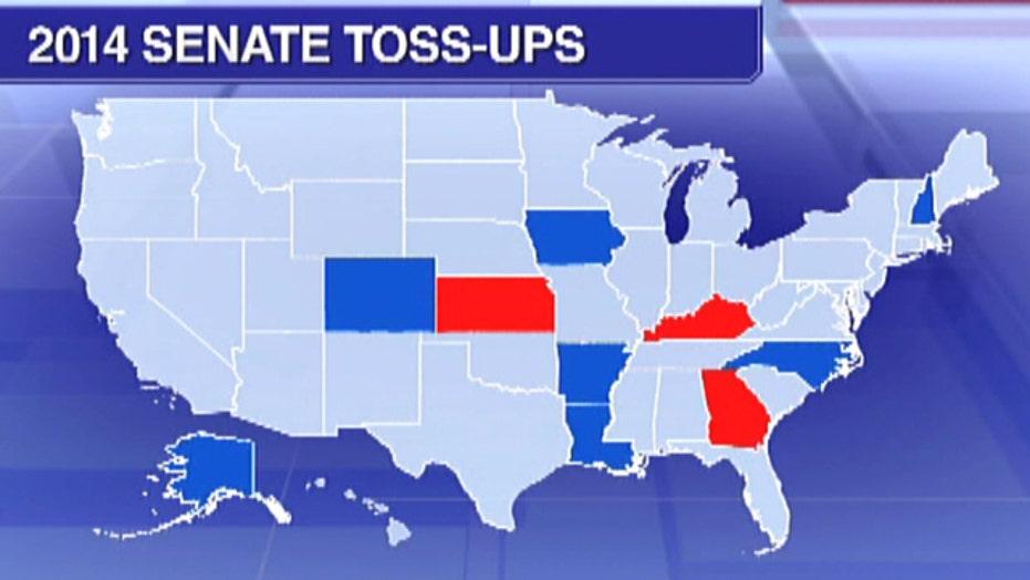 Control of Senate wide open in final campaign days