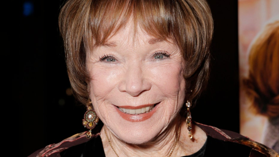 Shirley MacLaine talks new film, past leading men