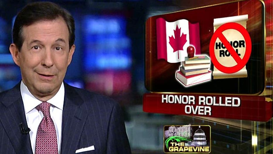 Grapevine: Canadian school axes honor roll