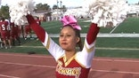 California girl lands spot on high school cheer squad despite living in a world of silence