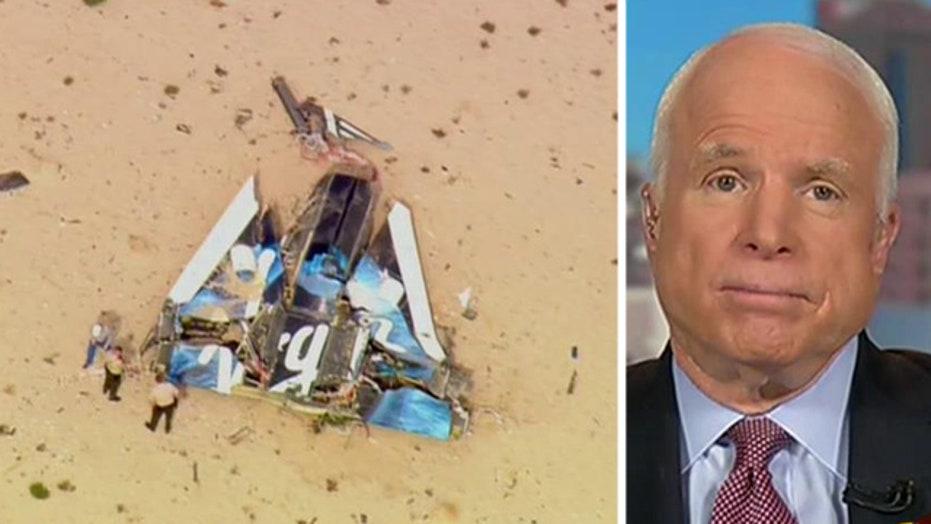 Sen. McCain on Virgin Galactic crash, immigration