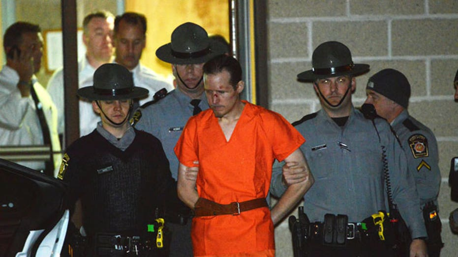 Eric Frein captured hiding in airplane hangar