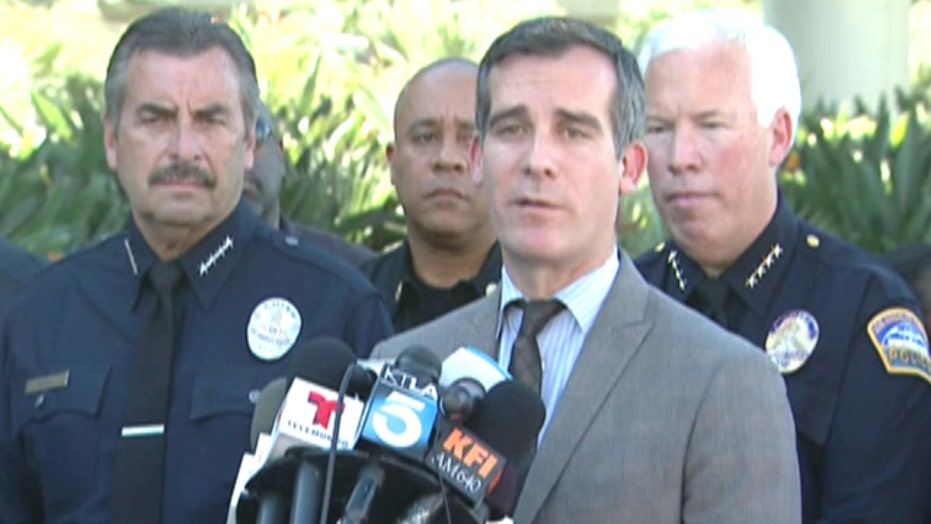 Officials give update after LAX shooting