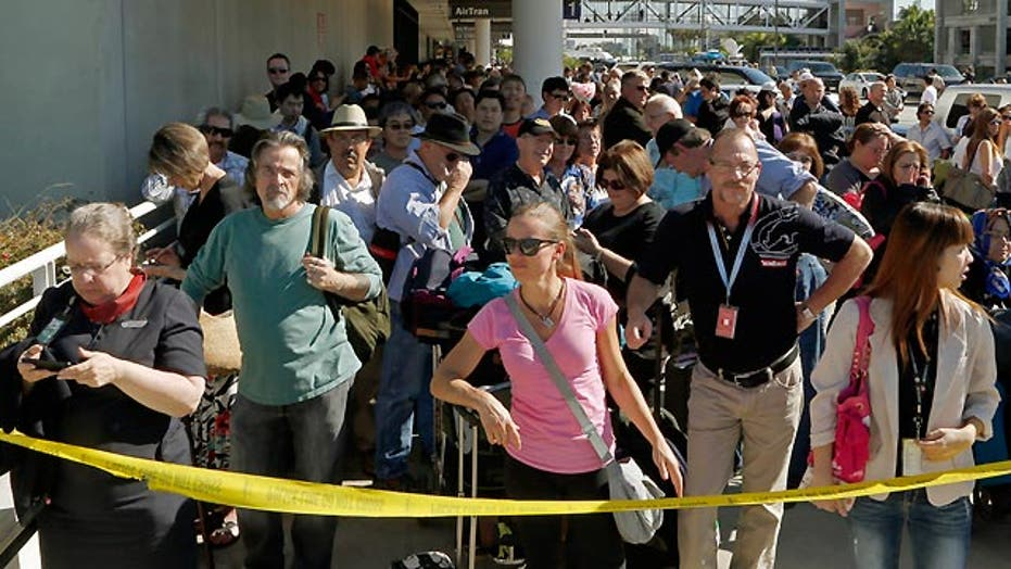 Passengers frustrated in aftermath of LAX shooting