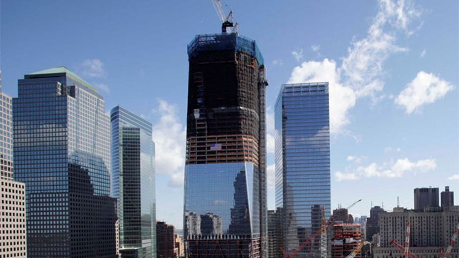 Time-lapse video: Building 1 World Trade Center