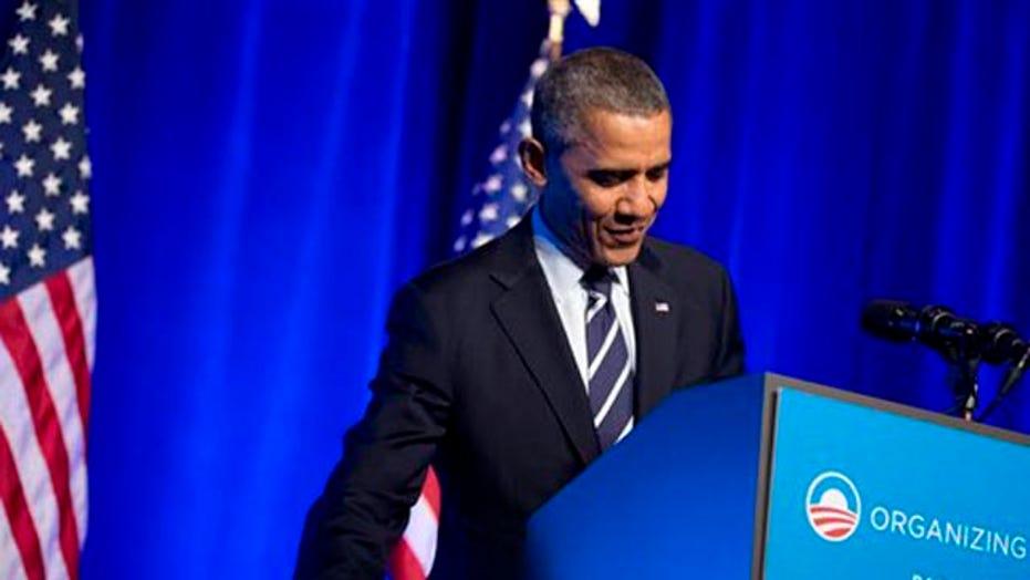 President Obama rewrites healthcare promise?