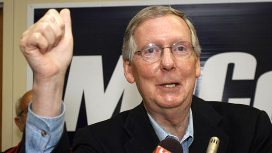 Midterms 2014: Sen. Mitch McConnell wins reelection