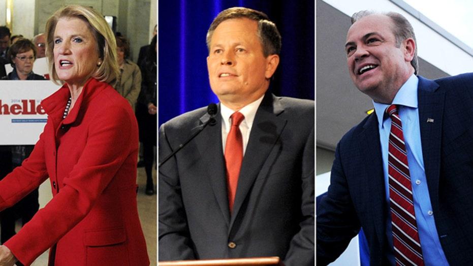 Republican wave in nation's gubernatorial races?
