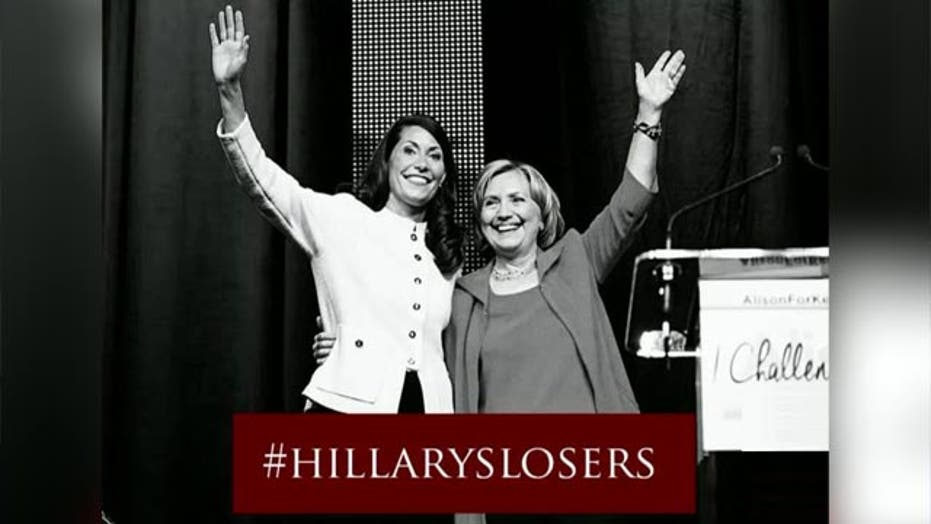 Impact of midterm losses on Hillary Clinton