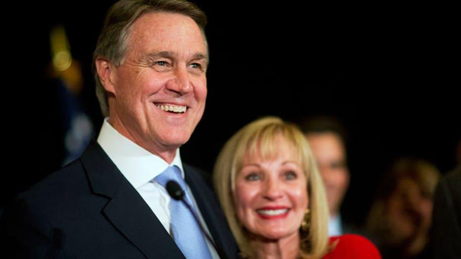 Perdue victory in Georgia helps GOP secure the Senate