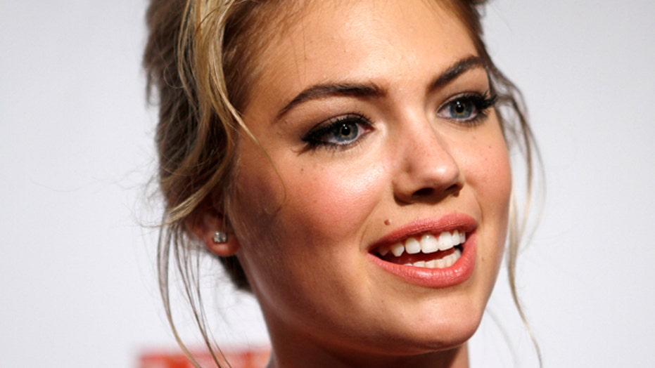 Kate Upton talks about body paint experience