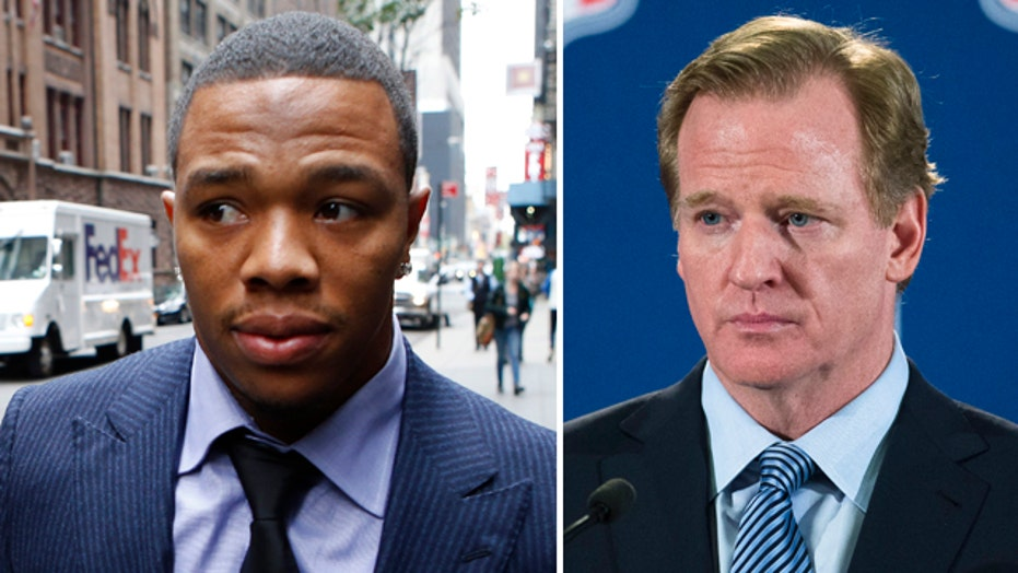 Roger Goodell testifies at Ray Rice appeal hearing