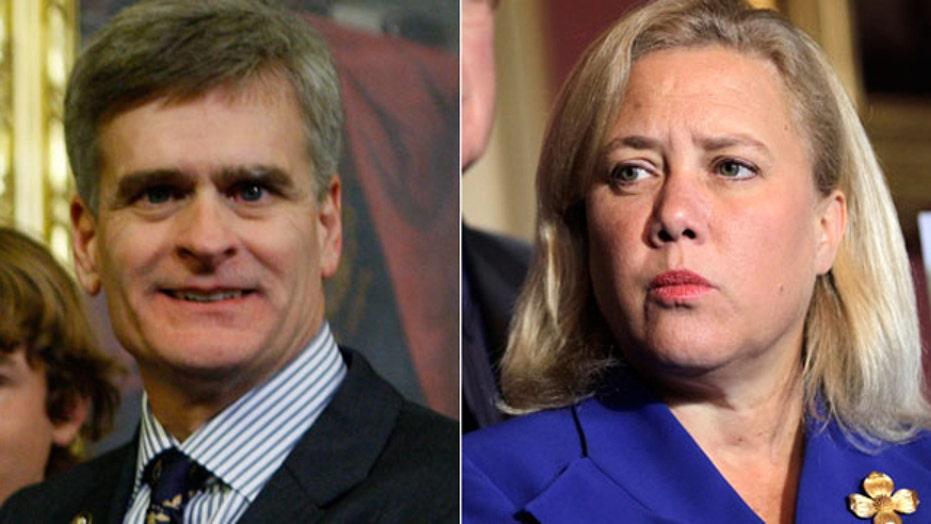 Are Democrats abandoning Landrieu's Senate campaign?