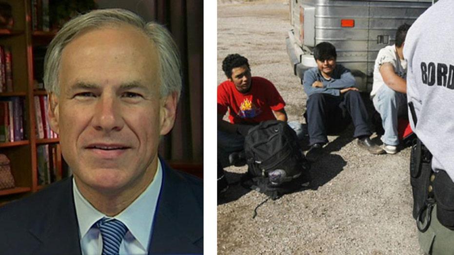 Greg Abbott details illegal immigration crisis