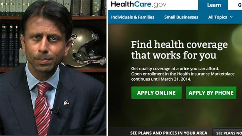 Gov. Jindal: ObamaCare website just 'tip of the iceberg'