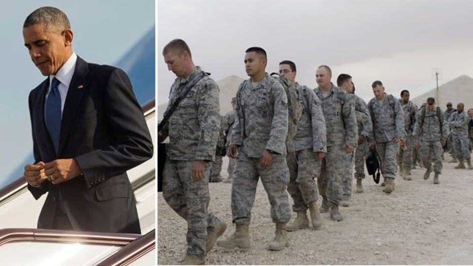 President Obama sending 1,500 more US troops to Iraq