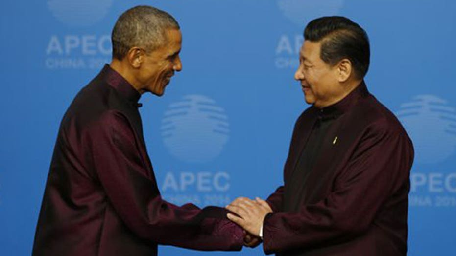 Obama arrives in China for start of three-country tour