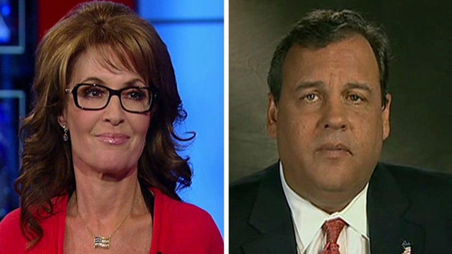 Sarah Palin on Chris Christie winning over conservatives