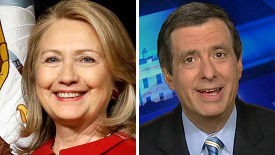 Kurtz: Why Hillary is the Democrats' last hope