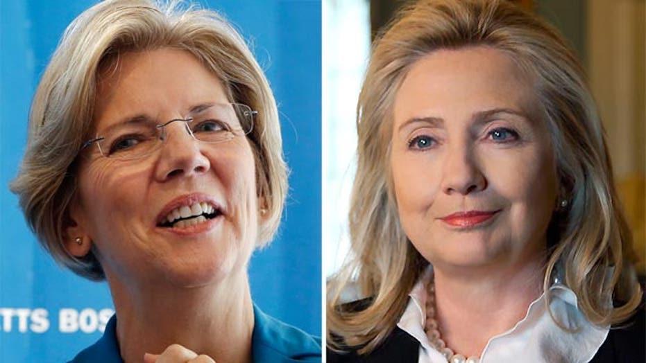 Elizabeth Warren vs. Hillary Clinton?