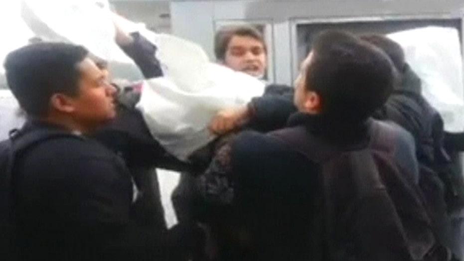 US sailors attacked in Turkey
