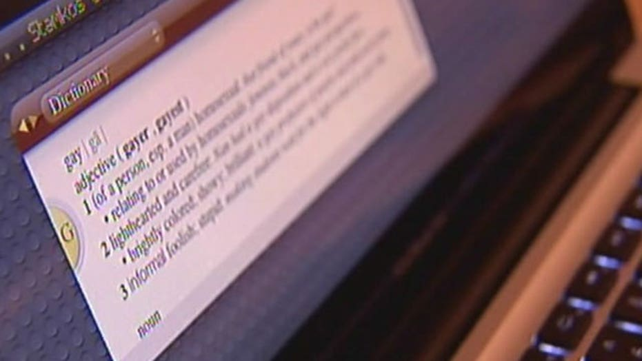 Teen leads charge to change definition of 'gay'