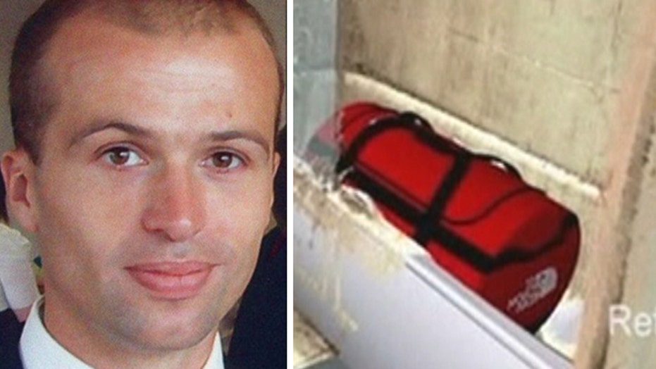 Investigators: British spy found dead in bag likely accident