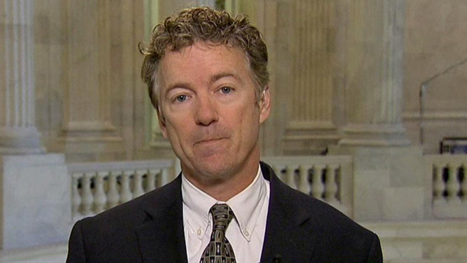 Sen. Rand Paul sounds off on Hillary Clinton