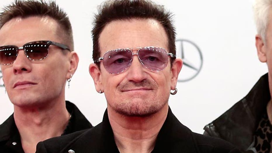 Bono's private plane loses hatch mid-flight