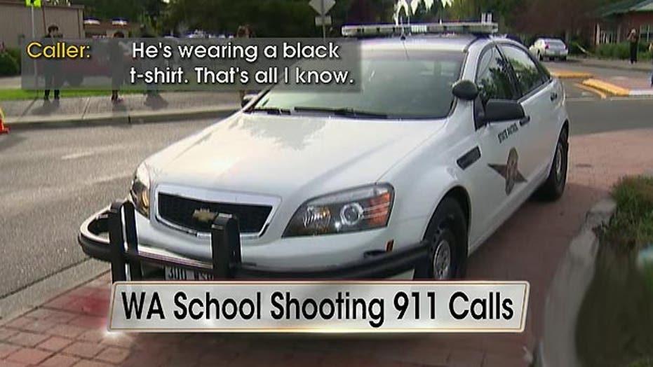 911 calls reveal panic, chaos of Washington school shooting