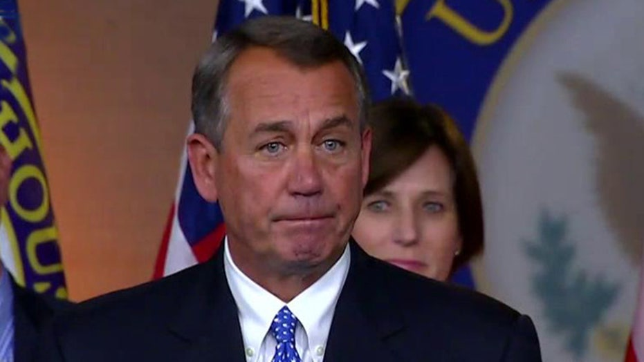 Boehner: We're going to fight the president tooth and nail