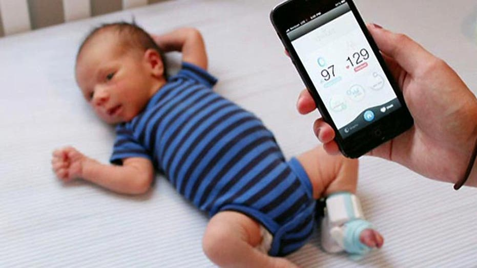 Monitor your baby's health with just a sock