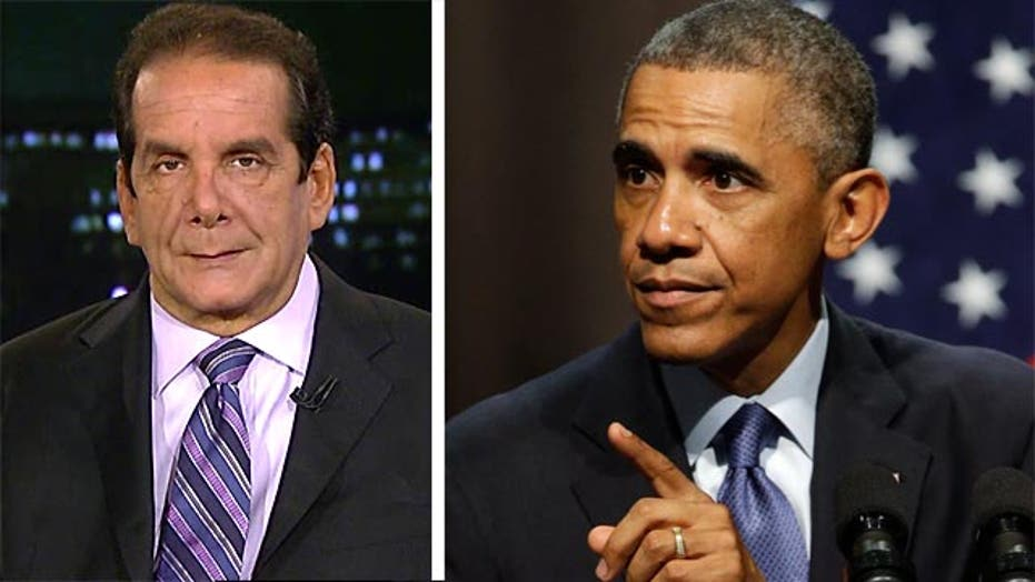 Krauthammer on Obama's immigration plans: 'this is bait'
