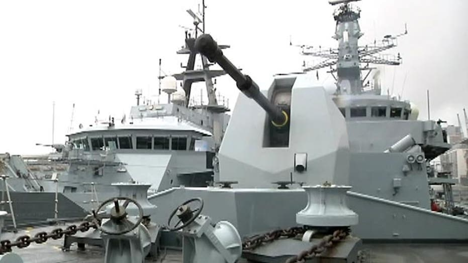 Guarding the seas at world's largest defense show