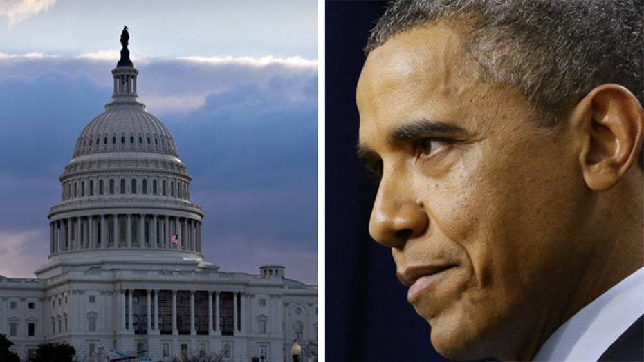 President Obama on collision course with GOP Congress