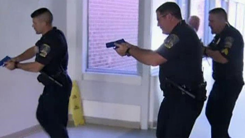 School shooter drill terrifies students, staff