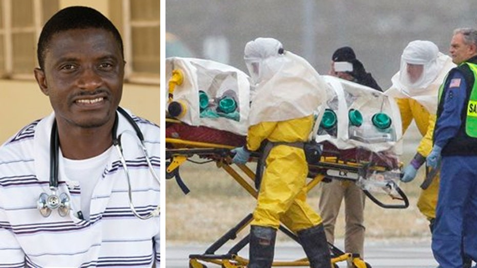 Status of Ebola patient 'extremely critical'