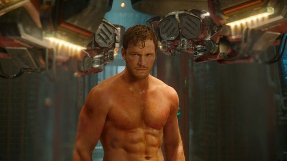 Chris Pratt likes his guns