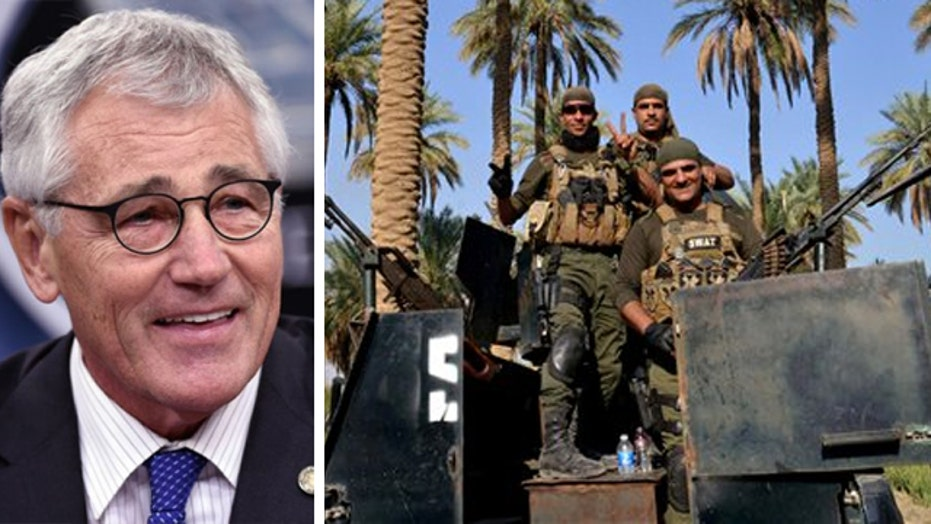 Secretary Hagel: US to speed up training of Iraqi forces