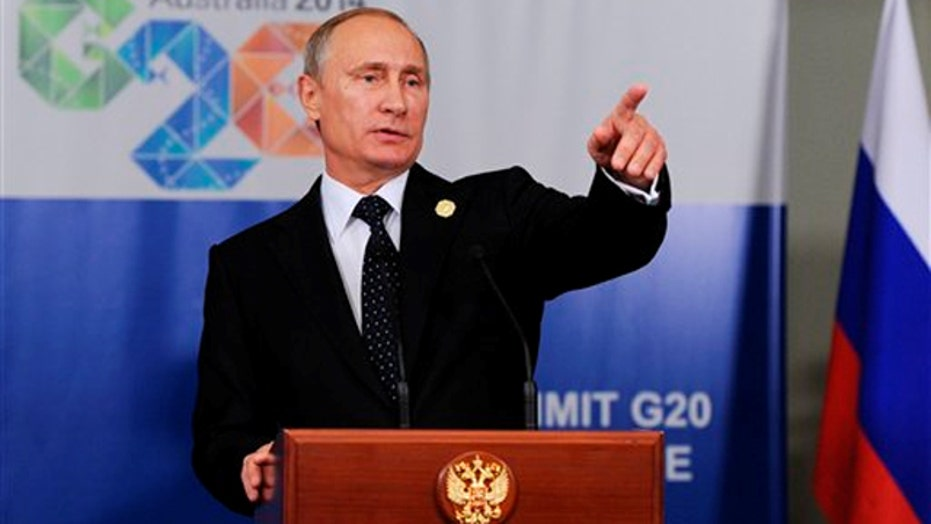 Putin leaves G-20 summit early after Ukraine criticism